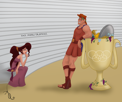 The First Olympics by ADQuatt