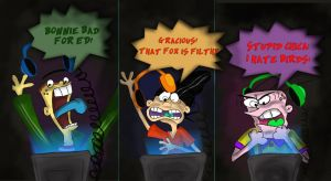 Ed, Edd, n Eddy Play FNAF by TurchinoRain
