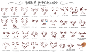 Random Expressions by Martiverse