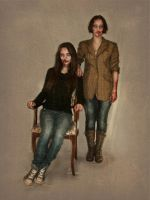 Zombie_Family portrait by Karina-Maria