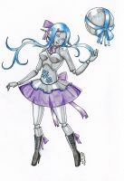 Ribbon Dancer Orianna by CrimsonStigmata2501