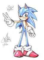 ..sonic the hedgehog.. by RoXthehedgehog