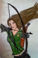Katniss Everdeen by MintMcCloud