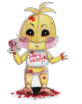 Toy Chica by Tikal-chan