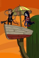 Adventure Time Hawkeye by cyen