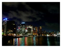 Sydney by night by o-racle