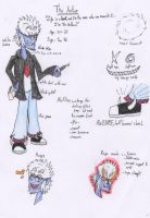 The Author reference sheet. by Baka2niisan