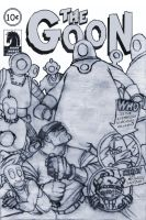 Goon cover Sketch by TheFool432