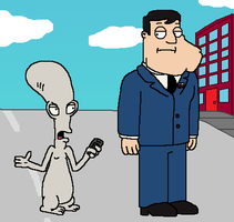 Roger The Alien Came By by Mighty355