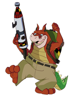 Dingodile by tveye363