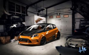 Ford Fiesta RS by Maettoe