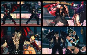 SF X TEKKEN Devil Jin Vampire Edition by monkeygigabuster
