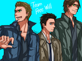 Team Free Will or team I-hate-myselft by ShaYepurr