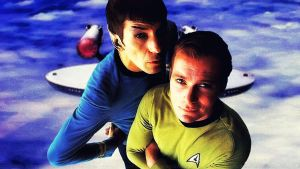 Spock and Kirk Ver 2 by Dave-Daring