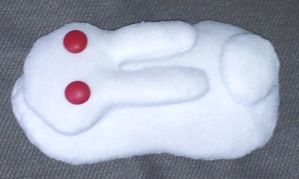 Flanoir Snow Bunny from Tales of Symphonia plushie by Lil-Samuu