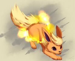 Flareon by Pand-ASS
