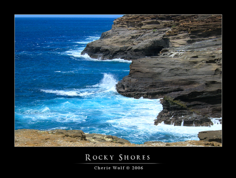 Rocky Shores by HolyBatman