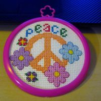 Peace Stitch by cadillacphunque