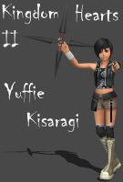 KH2 Yuffie Kisaragi by Frozen-Knight