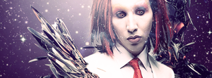 Marilyn Manson Facebook Cover by Hisue995