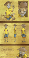 Eden NPC: Storyteller by silvachito