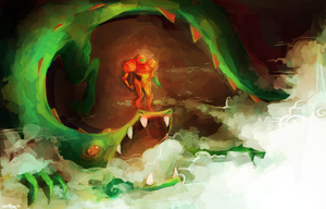 Metroid by HaxPunch