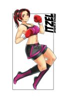 Itzel Sanchez Professional Boxing Gear by deadpoolthesecond
