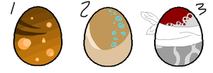 Mystery Eggs 5 by Adopts-R-Us