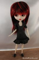 Charcoal Dress for Pullip by KerriaRosette