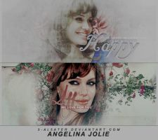 angelina jolie by 3-al5ater
