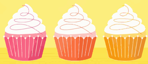 Cupcakes Vector by LabLayers