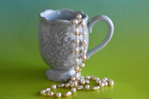 A Cup of Pearls by SharPhotography
