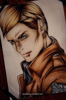 Commander Erwin Smith by DoreiShounen
