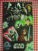 Star Wars Collage-Painting by TrueLovePrevails