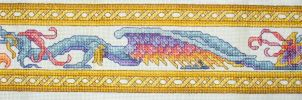 Dragon Cross Stitch by susanjrobinson