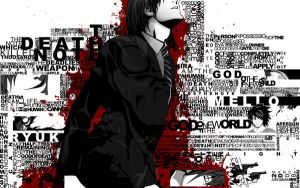 death note wallpaper by furika