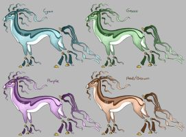 Lind Color Variations by LhuneArt