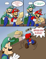 Mario's Realization by ArcoJawa