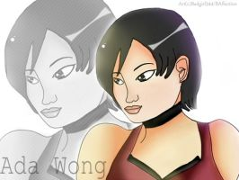 Ada Wong Collab by BlacknessAffection