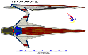 uss concord cv-1222 by bagera3005