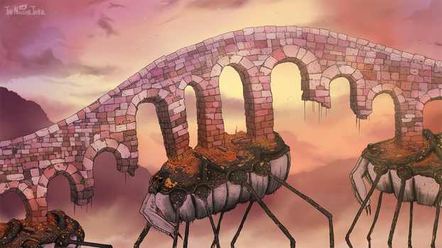Harvestmen Bridge by NuclearJackal
