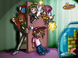 Fairly OddParents by albreech