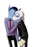 Marceline has two daddies by Snowflake-owl