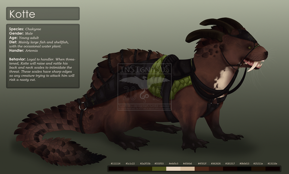 Design Commission Otterderg - With Tack by Insignasus