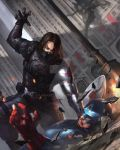 Winter Soldier VS Captain America by NWArt7