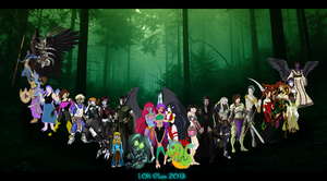 LOK Clan Portrait 2013 by impia-dea