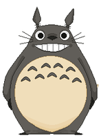 Totoro by dirtmoth