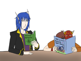 Study Time by Ebulliently-Askew