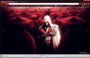 Assassins Creed Brotherhood Google Chrome Theme by vrkm2003