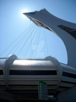 Olympic Stadium of Montreal by John-Furie-Zacharias
